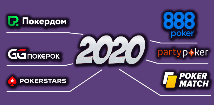 Лучшие покер-румы 2020 года