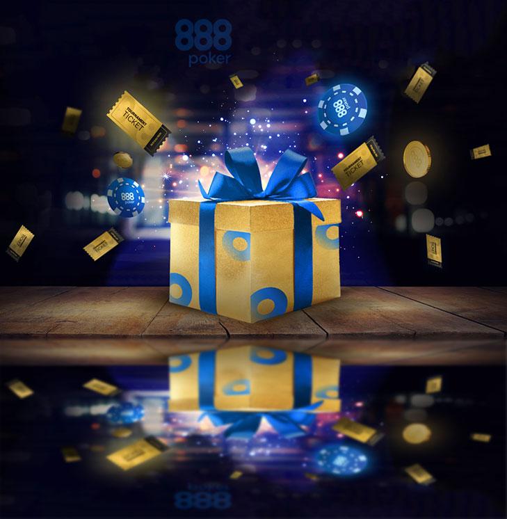 лучшие бонусы от 888poker