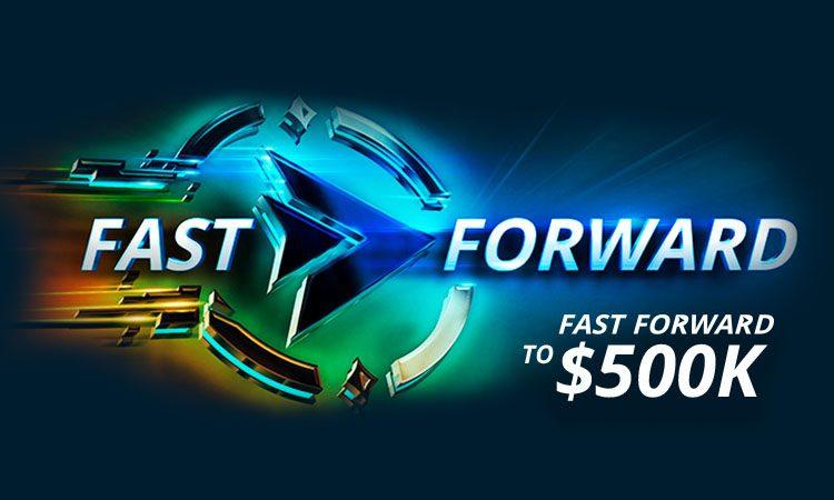 На partypoker акция для игроков Fast Forward