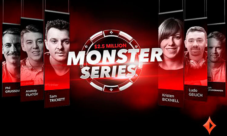 Турнир Monster Series на partypoker